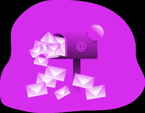 Caixa de entrada de e-mail cheia